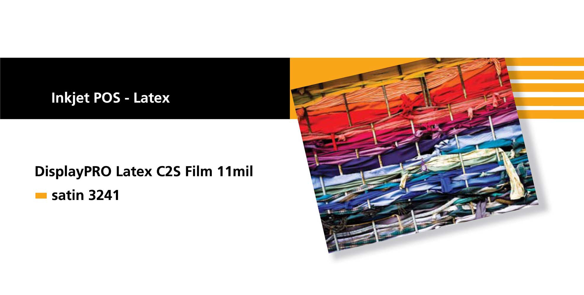 Sihl 3241 Display PRO 11 Latex C2S Film 11 mil