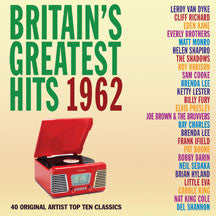 Britain's Greatest Hits 1962 (CD)