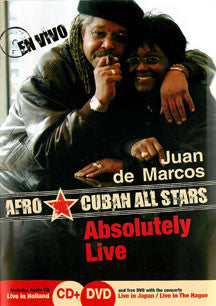 Juan de Marcos Gonzales & Afro Cuban All Stars - Absolutely Live (DVD)