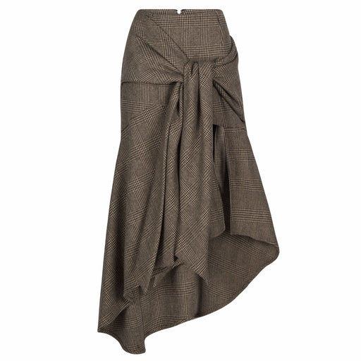 Wrap Wool Skirt