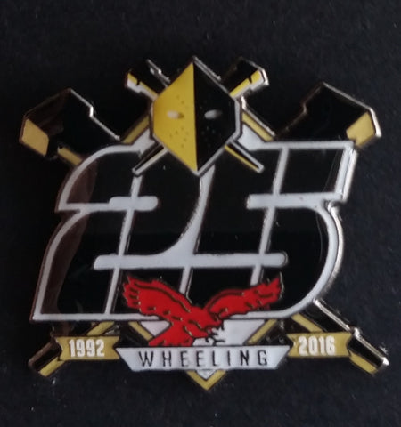 Wheeling Nailers 25th Anniversary Pin