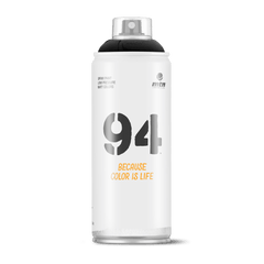MTN 94 Spray Paint - Black (9RV-9011)