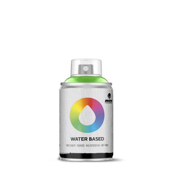 MTN Water Based 100 Spray Paint - Brilliant Light Green | Spray Planet