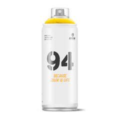 MTN 94 Spray Paint - Light Yellow (9RV-1021)