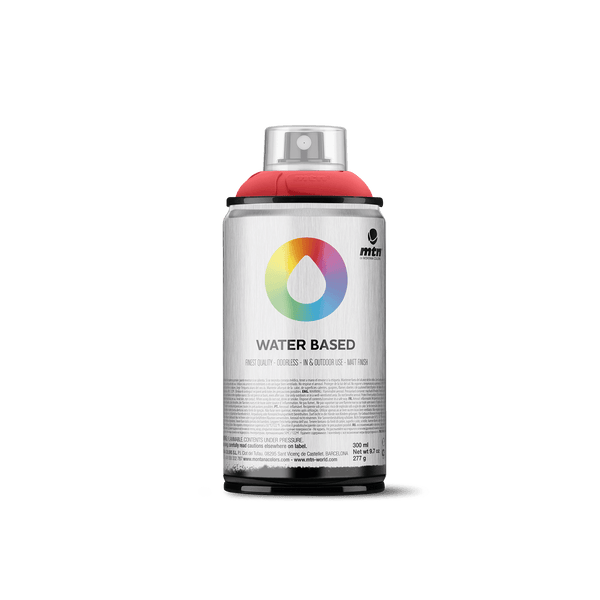 MTN Water Based 300 Spray Paint - Naphthol Red Deep | Spray Planet