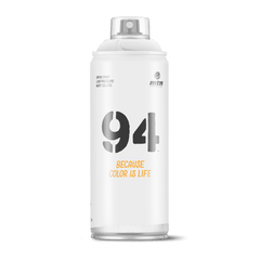 MTN 94 Spray Paint - White (9RV-9010)