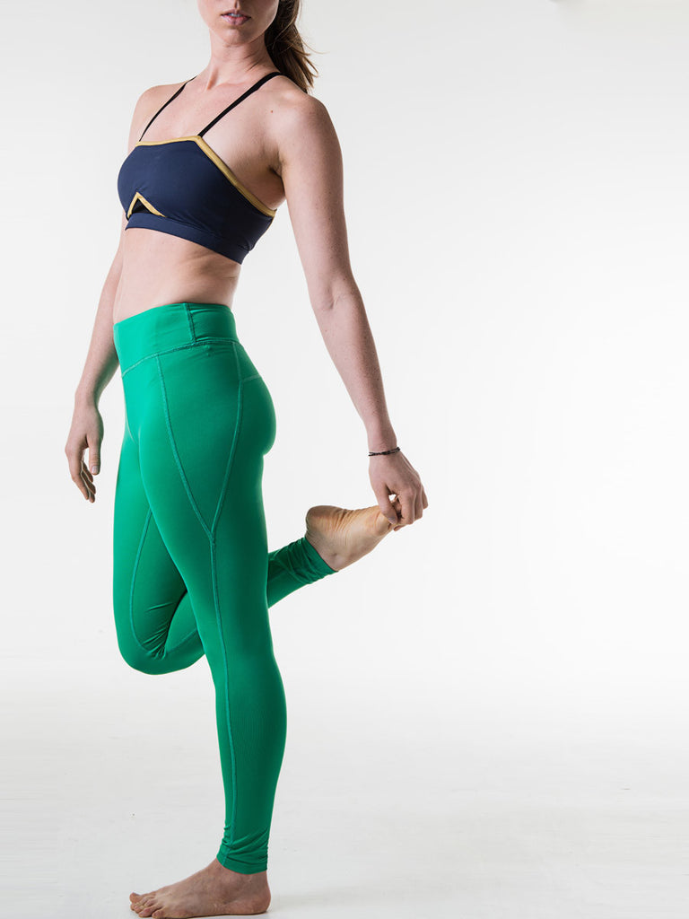 Sara Leggings in Indian Green