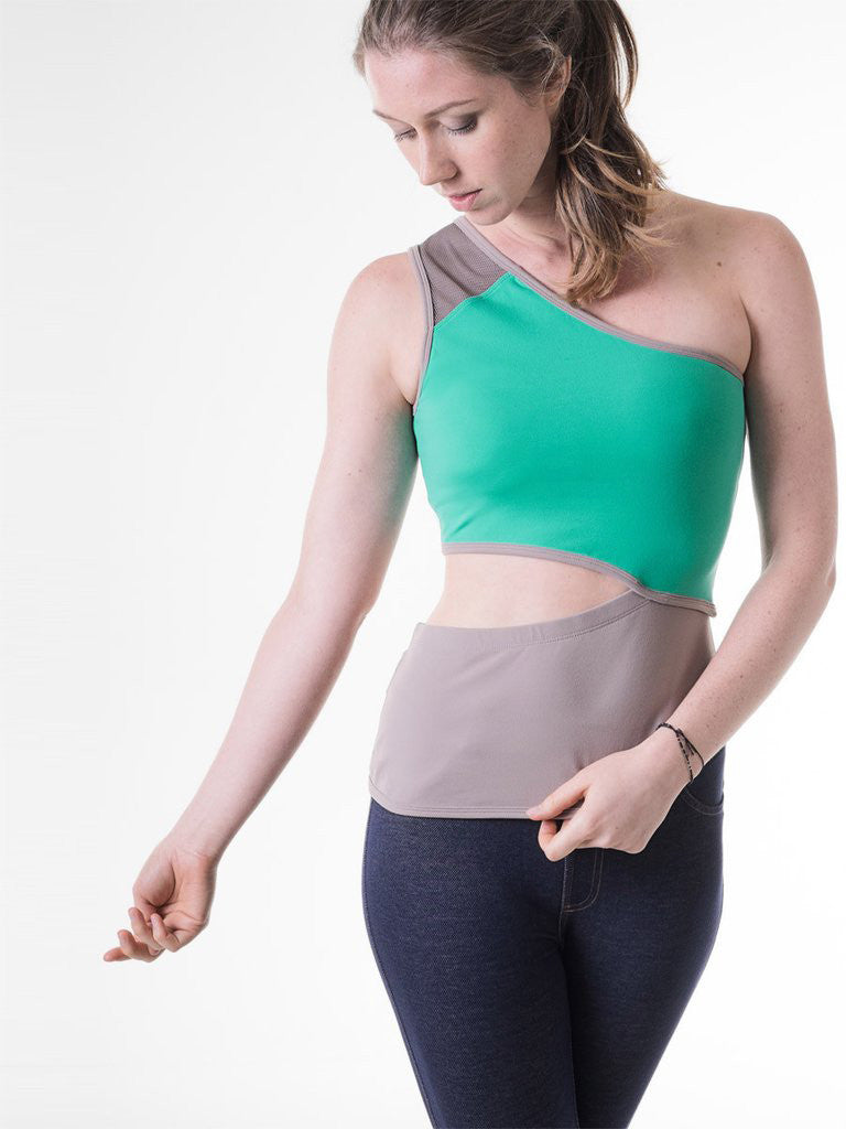 Margaret Tank in Sea Green