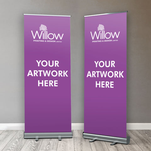 Customised Roller / Popup / Retractable Banner - From £69.00+VAT