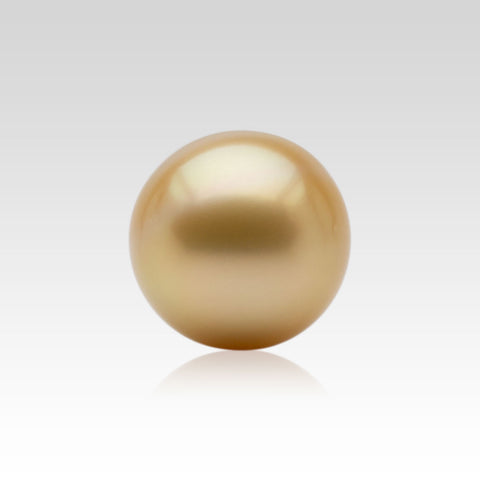 17-17.5mm Loose Golden South Sea Pearls