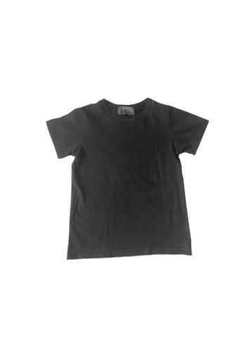 sizes 8,10,12 - Pigment Wash Tee - Coal