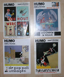 Joost Swarte # 4 HUMO COVERS,80/90's # NM+