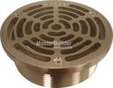 Zurn ZXN400-A Heavy-Duty Nickel Bronze Round Floor Drain Strainer