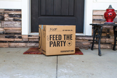 feed the party box at your door