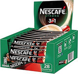 Nescafe STRONG 3 in 1, CASE (28 x 17.5g) - Parthenon Foods