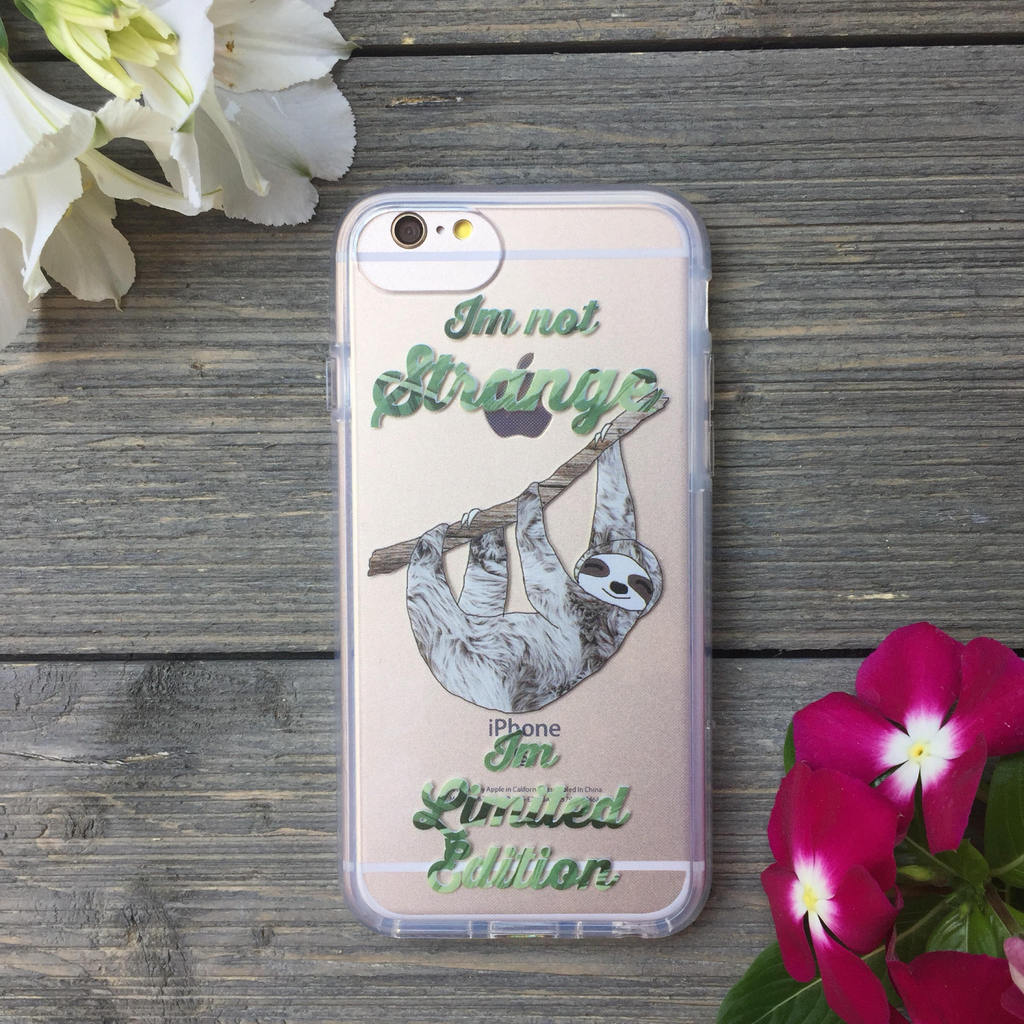 iPhone Strange Sloth Case
