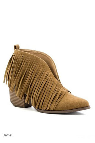 The Fringe Brooke Booties