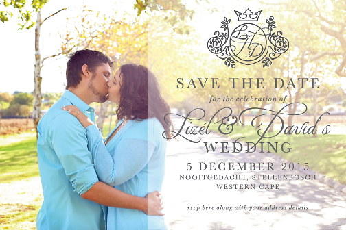 Lizel Save the Date