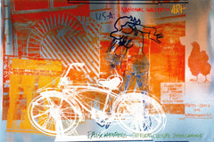 Bicycle - National Gallery, Robert Rauschenberg