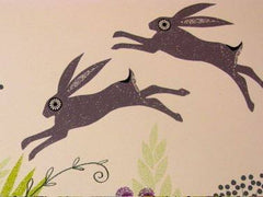 March Hares in Mid-June, Jane Ormes Alternate View