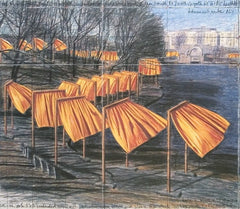 Project for the Gates VIII, Javacheff Christo Alternate View