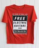 Ross Sinclair Red Discordia T-Shirt, Patricia Fleming Projects - CultureLabel - 1