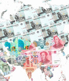 Money Map of the World, Justine Smith - CultureLabel
