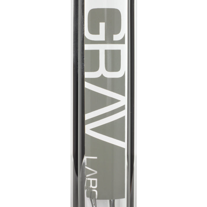 "Grav Labs 8"" Flare Water Pipe with Fixed Downstem"