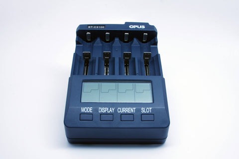OPUS BT-C3100 Battery Charger - Tester/Analyzer