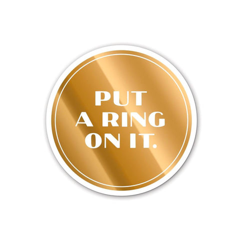 Put A Ring On It Coaster Set