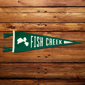 Pennant | Fish Creek - Pure Adirondacks