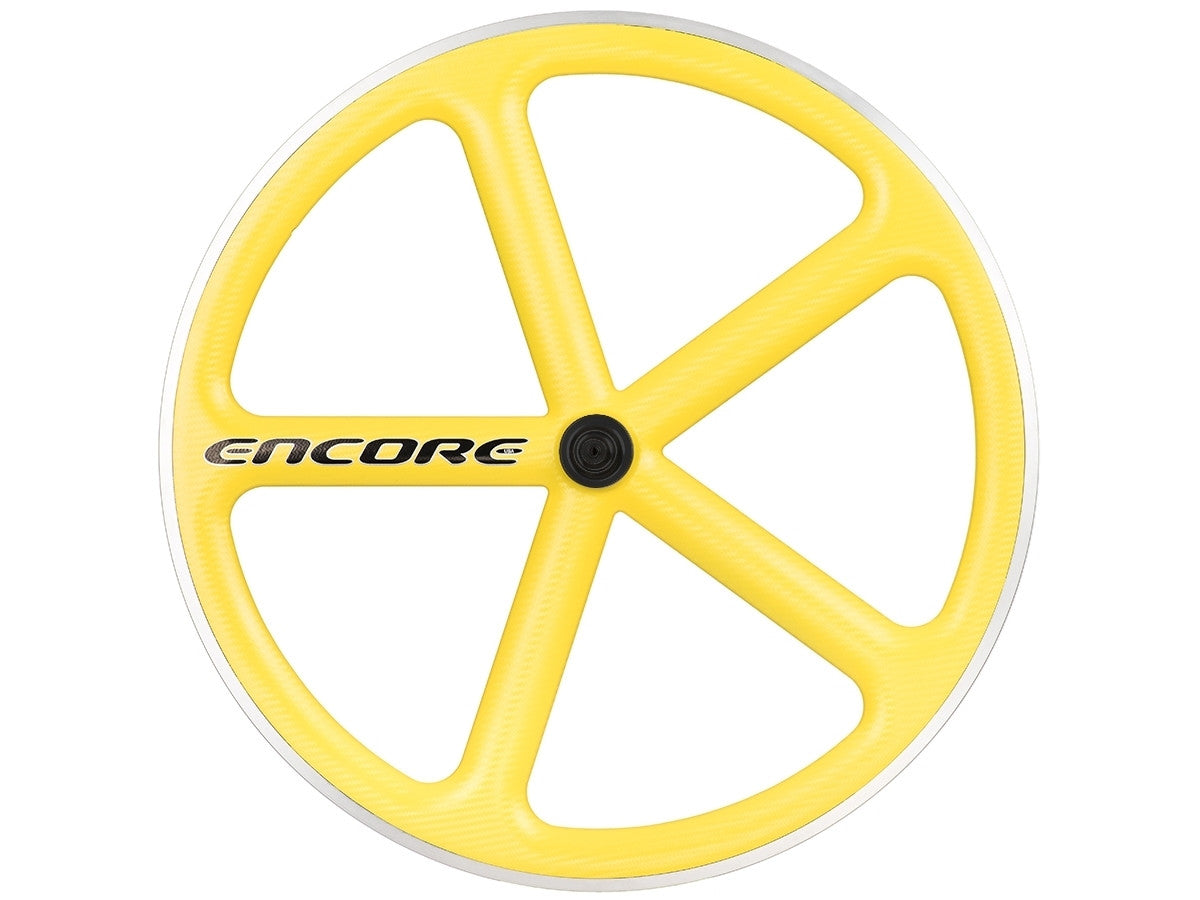 Yellow encore wheel
