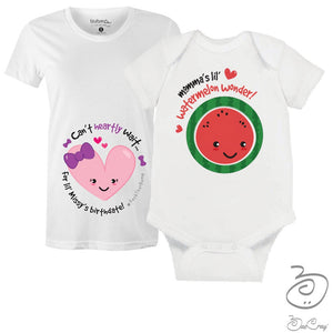 Bae Cray-Pregnancy Milestones-Gender Reveal- It's A GIRL- Maternity T-Shirt- New Mom Gift-Baby Shower Gift Bundle