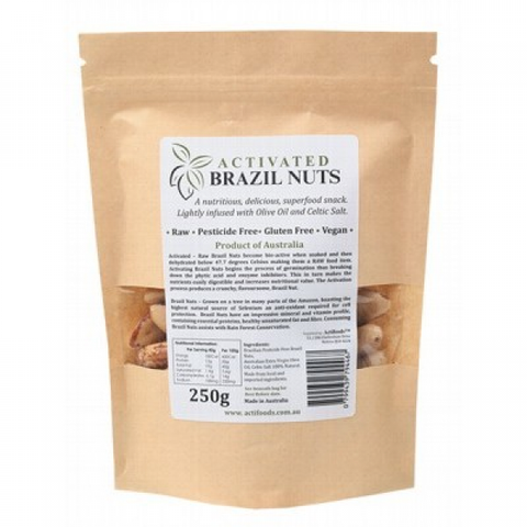 ACTIFOODS Activated Brazil Nuts 250g