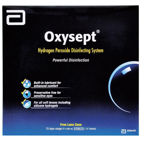 Oxysept 240ml Plus 24 Tab