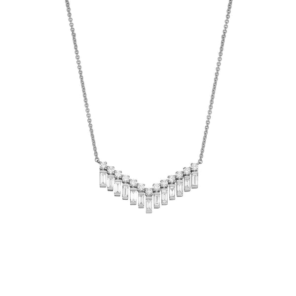 Orin Diamond Arrow Necklace