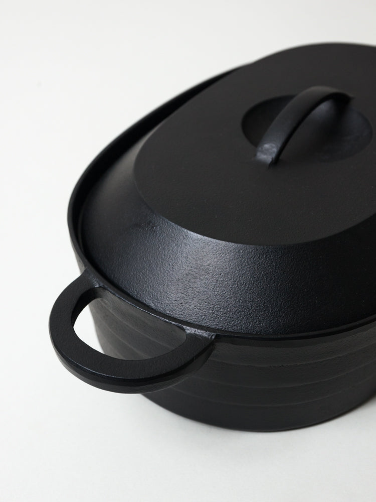 Iwachu Cast Iron Oval Pot