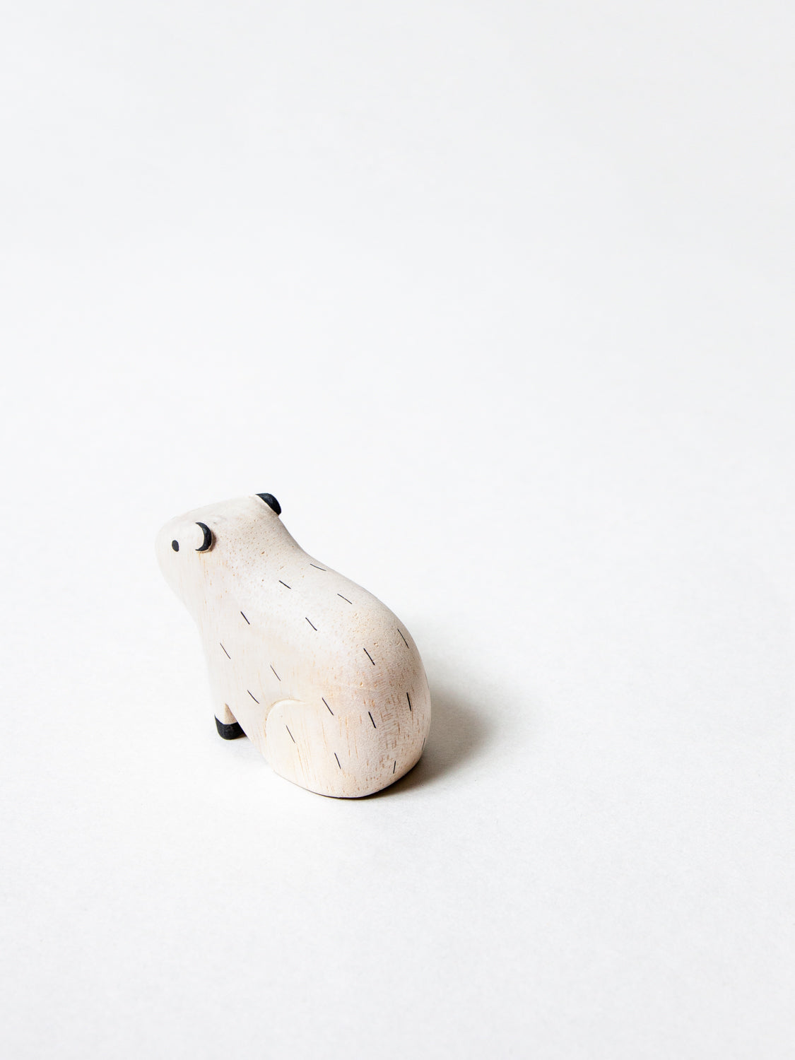Wooden Animal - Capybara - rikumo japan made