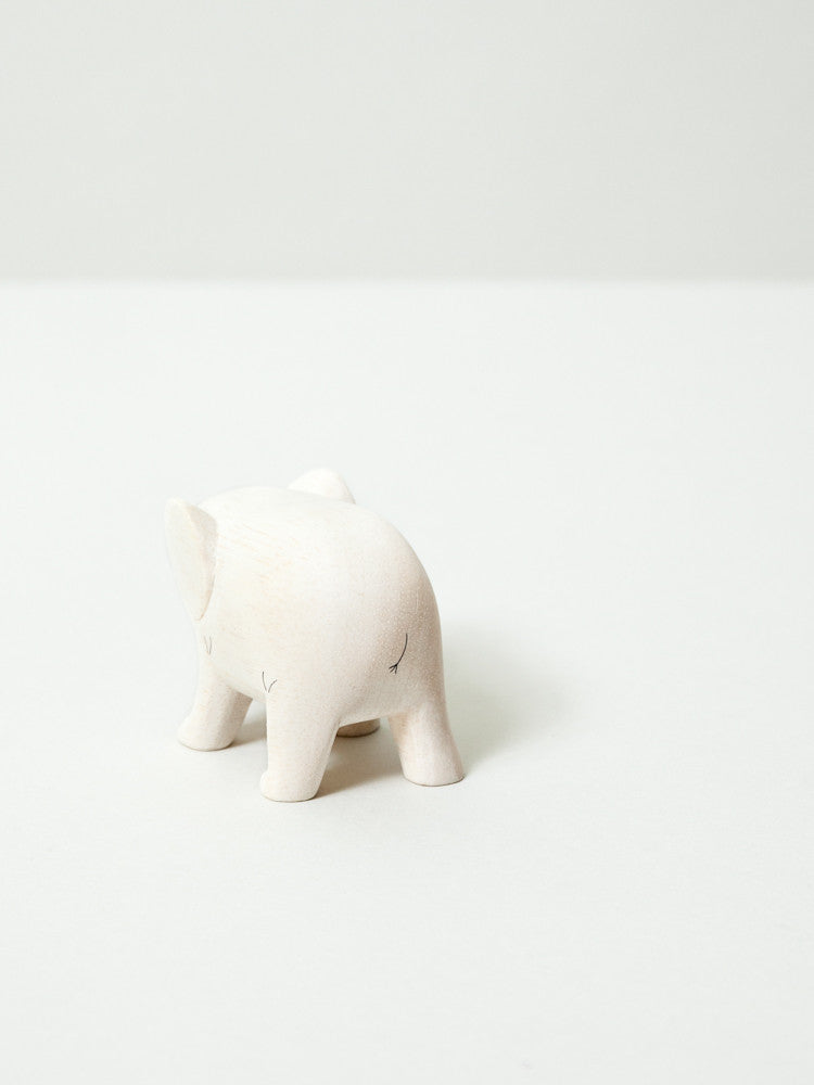 Wooden Animal - Elephant - rikumo japan made
