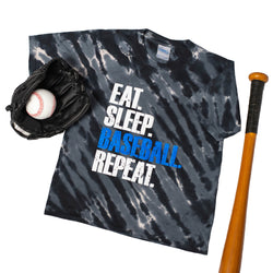 Youth Eat, Sleep, Baseball, Repeat Tee