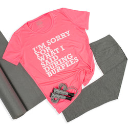 Women's Burpees Tee