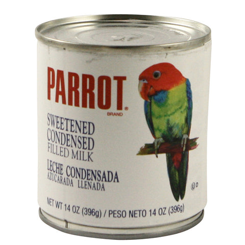 Parrot Sweetened Condensed Milk 24 x 14 oz