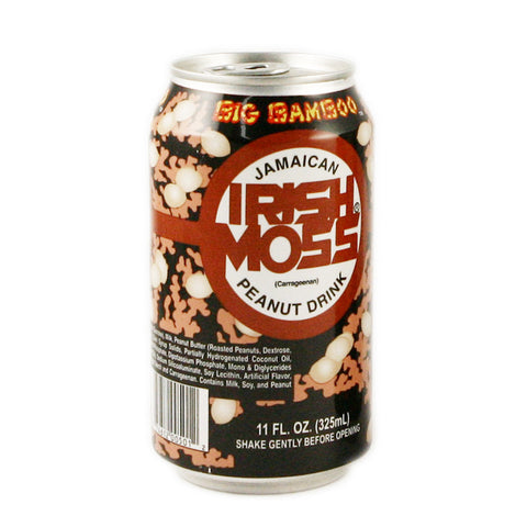 Big Bamboo Irish Moss Peanut Drink - 24 x 12oz