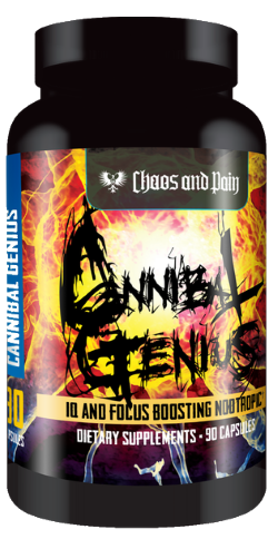 Cannibal Genius Powerful Nootropic | Chaos & Pain