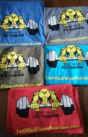JMFN T-Shirt By Just Max Fitness Nutrition