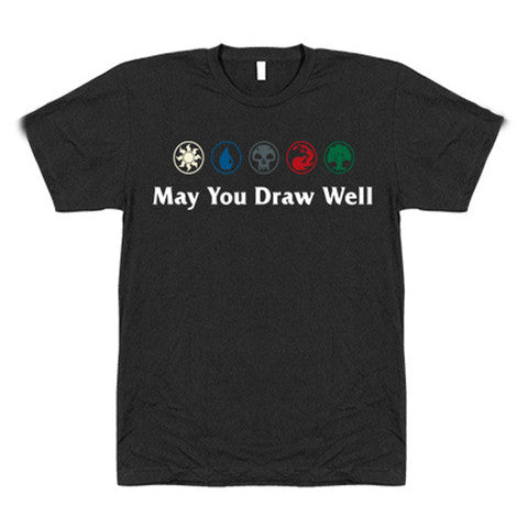 Geek and Sundry Magic May You Draw Well Shirt front