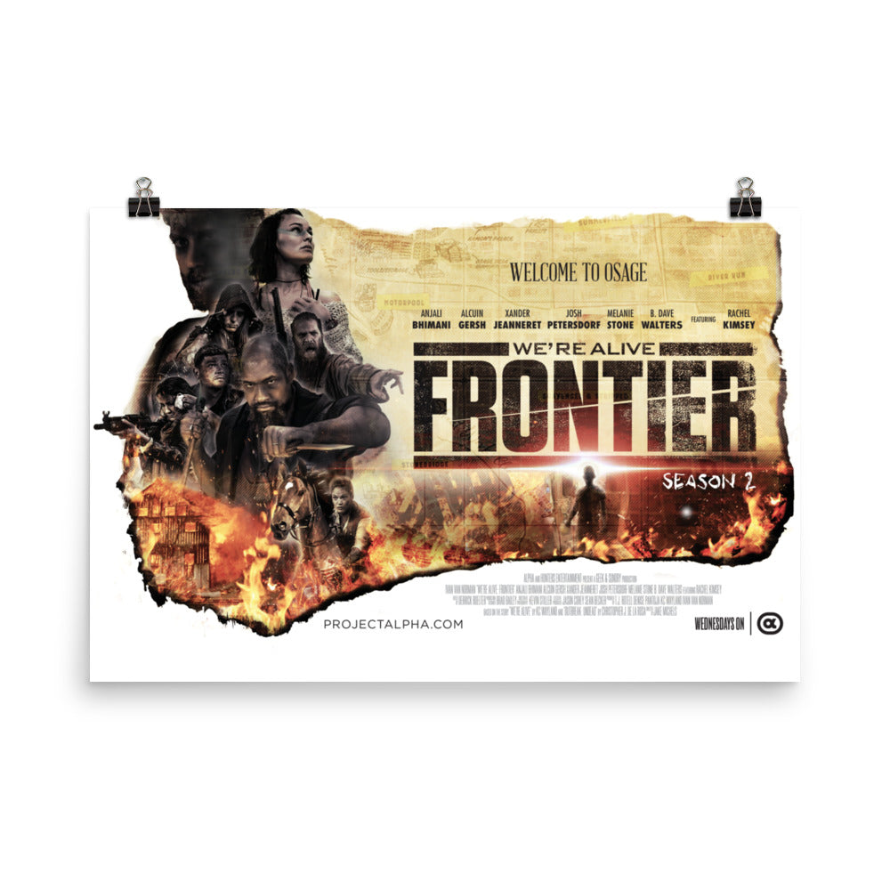 We're Alive Frontier - Official Season 2 Poster