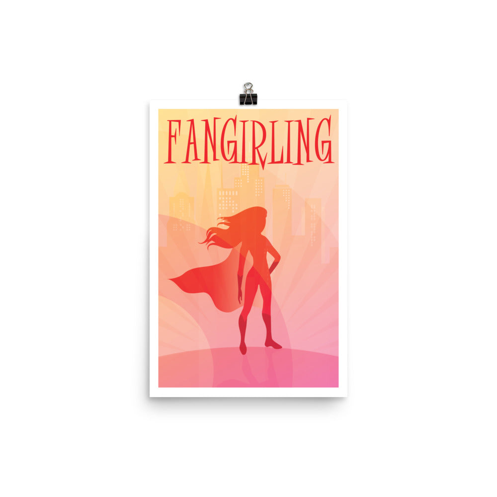 Fangirling - Nerdist House San Diego 2018 Poster