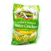 EXCELSIOR WHOLE WHEAT WATER CRACKERS 143G