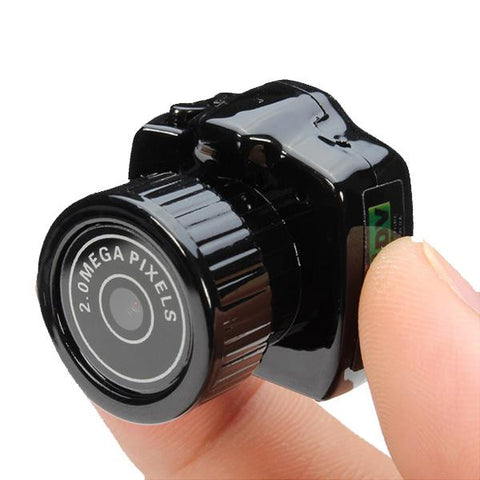 720p HD Mini Camera & Camcorder
